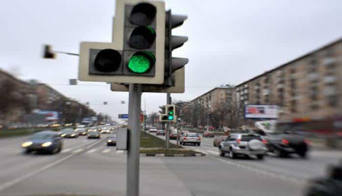 В Баку не работают светофоры на 9 перекрестках