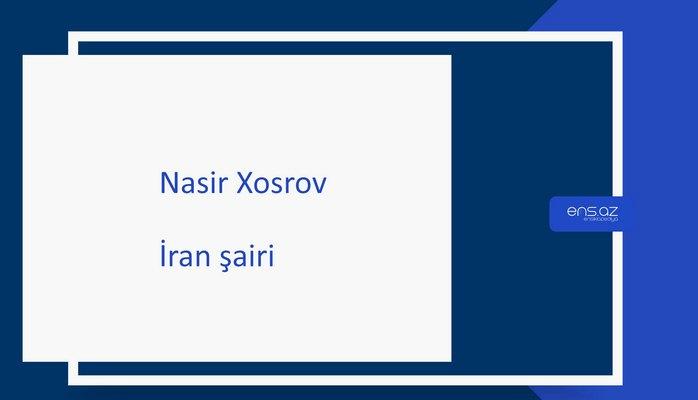 Nasir Xosrov