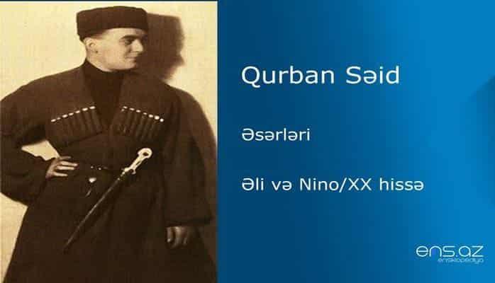 Qurban Səid - Əli və Nino/XX hissə