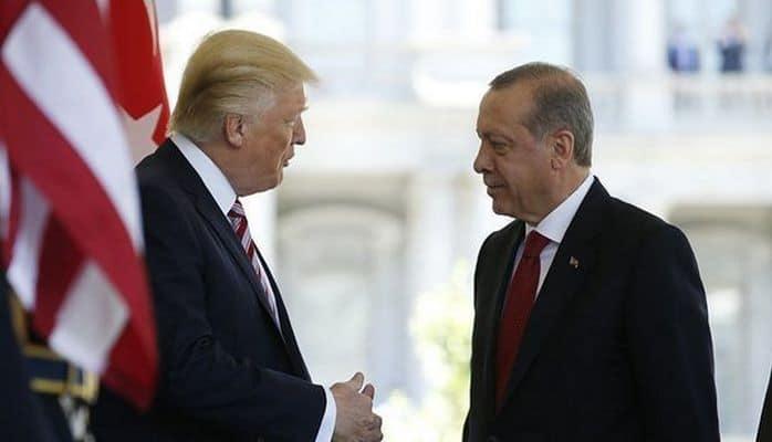 """Tramp: """"Türkiyədən gözəl xəbərlər var, Ərdoğana təşəkkürlər"""""""