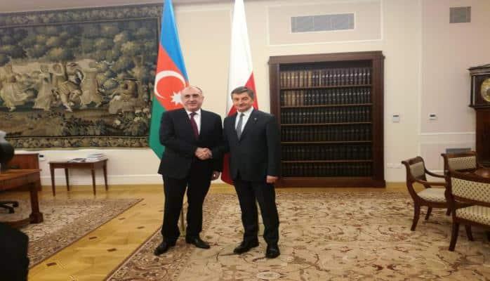 Глава МИД Азербайджана встретился с маршалом польского Сейма