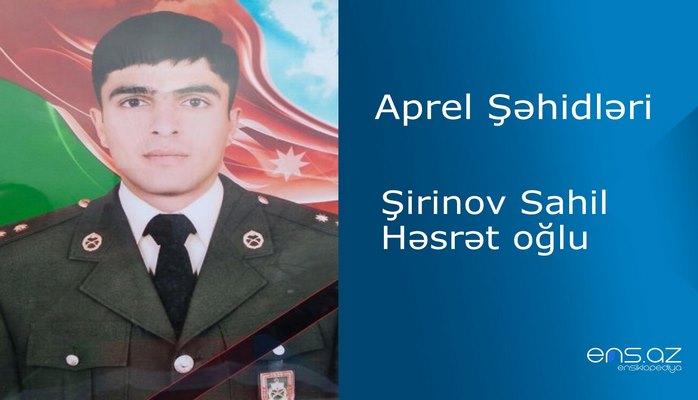 Sahil Şirinov Həsrət oğlu