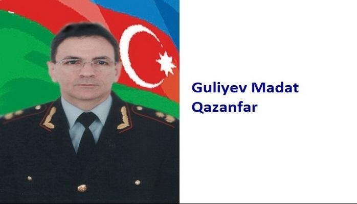 Guliyev Madat Qazanfar