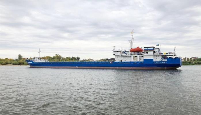 Азербайджанский сухогруз будет плавать в водах Азовского, Черного и Средиземного морей