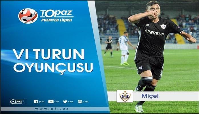 Определен лучший игрок VI тура Премьер-лиги Азербайджана
