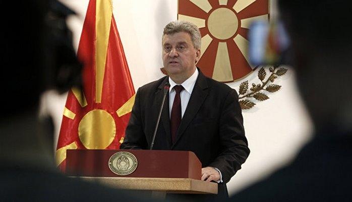 Президент Македонии объявил бойкот референдуму о переименовании страны