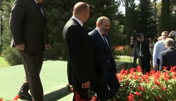 Пашинян — о беседе с Ильхамом Алиевым в Душанбе