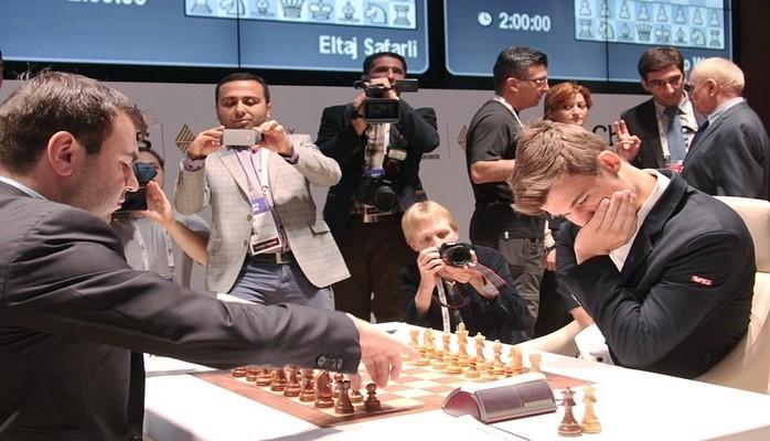 Шахрияр Мамедъяров проиграл норвежцу Магнусу Карлсену