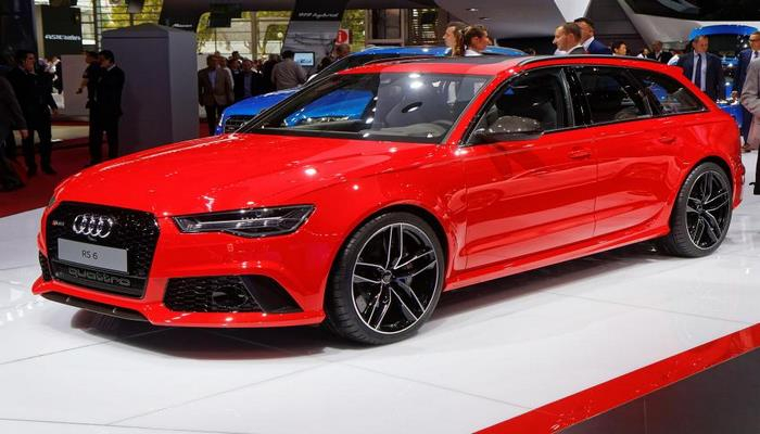 Компания Audi представила гибридный универсал RS6 Avant