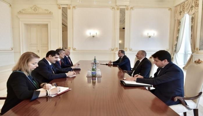 Prezident İlham Əliyev Türkiyənin Təhsil nazirini qəbul edib