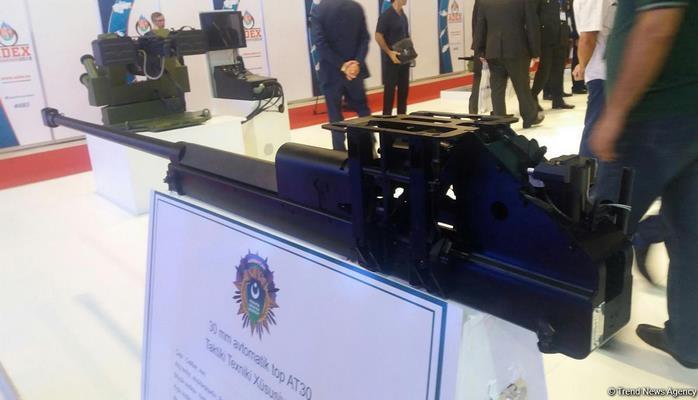 Азербайджан выпустил автоматическую пушку