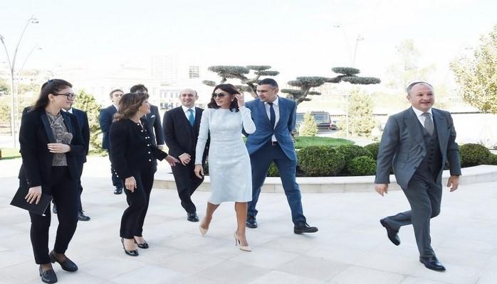 Birinci vitse-prezident Mehriban Əliyeva İtaliya Senatının sədri ilə görüşüb