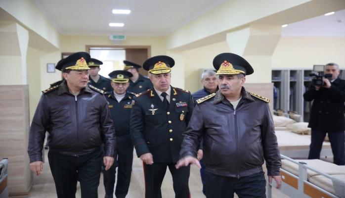 Передано в пользование новое курсантское общежитие Высшего военного училища им. Гейдара Алиева