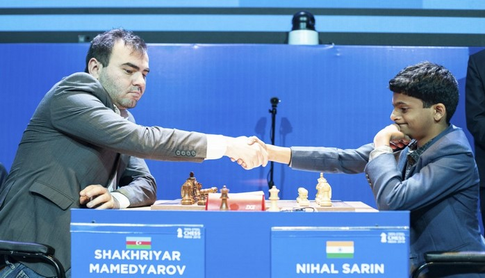 Шахрияр Мамедъяров финишировал четвертым в турнире по рапиду Tata Steel India Rapid Chess