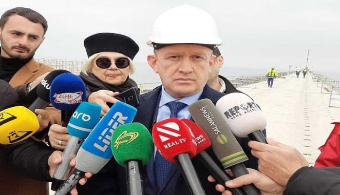 На Сумгайытской ТЭС строится эстакада длиной 750 метров