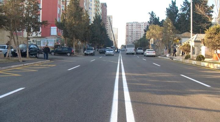В Азербайджане отремонтирован ряд улиц