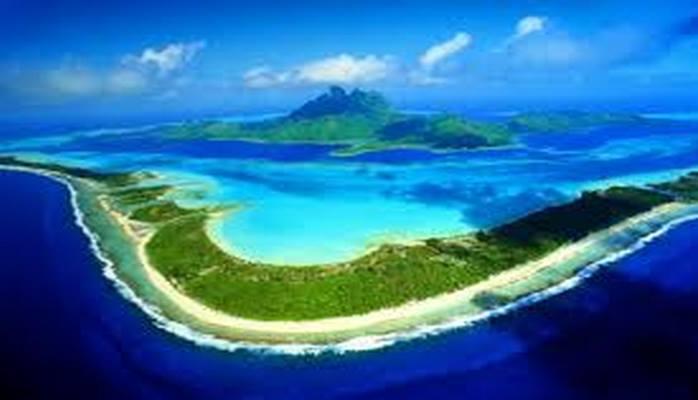 Волшебный островок в Тихом океане