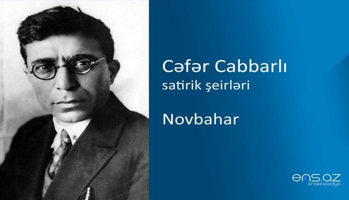 Cəfər Cabbarlı - Novbahar