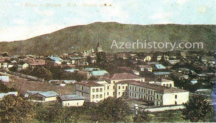 Улицы и дома Шуши на старинных открытках (ФОТО)