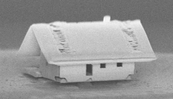 Роботы создали мини-дом