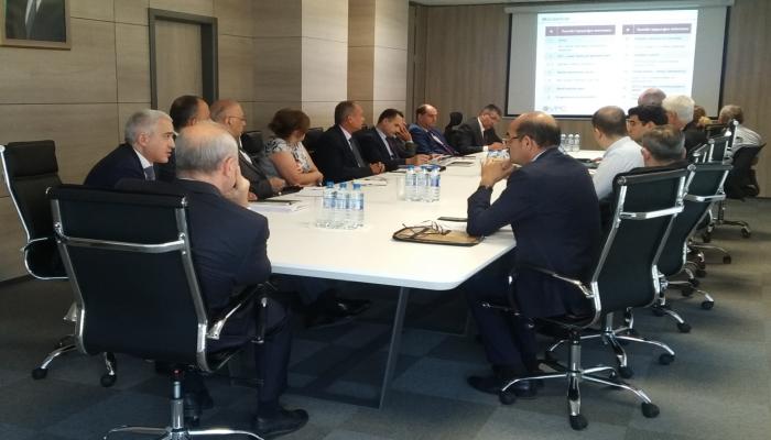 Состоялось заседание по повышению эффективности отопительной системы в Азербайджане