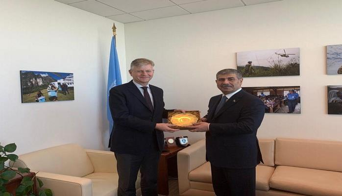 Заместитель генсека ООН высоко оценил деятельность азербайджанских военнослужащих