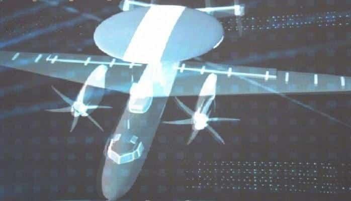 Китай показал копию американского «летающего радара»