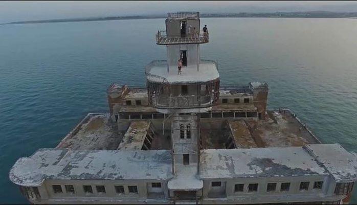 Каспийский форт Боярд: как выглядит заброшенная крепость