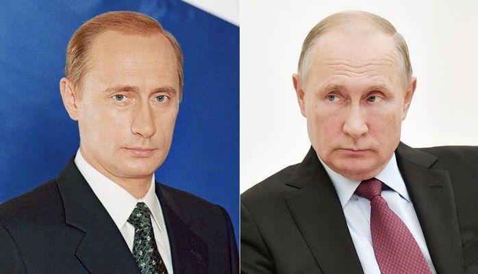Как менялся Путин за 18 лет у власти. Фотографии по годам