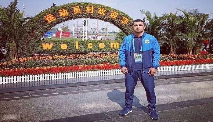 Азербайджанский борец победил армянина и завоевал медаль