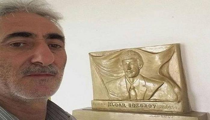 Zahir Məlikli şəhidin barelyefini hazırladı