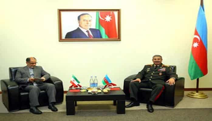 Закир Гасанов встретился с иранской делегацией