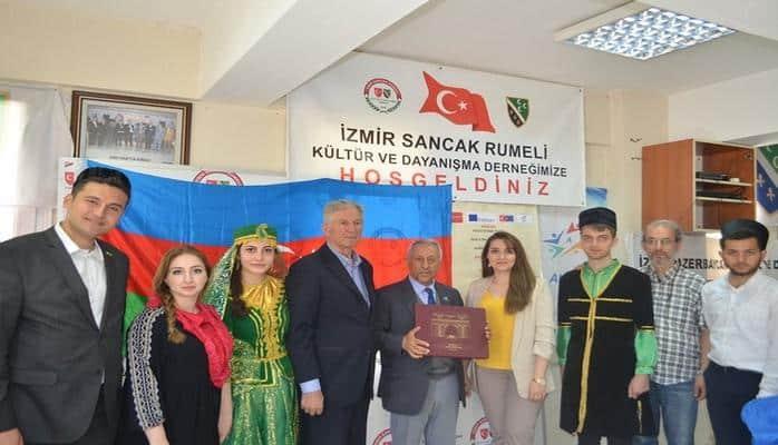 Türkiyənin İzmir şəhərində Azərbaycan Günü keçirilib