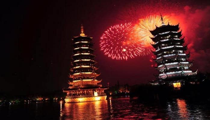 В Китае ввели запрет на фейерверки в Новый год