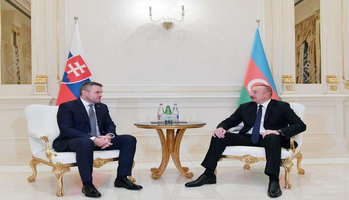 Президент Ильхам Алиев: Азербайджано-словацкие отношения важны с точки зрения развития сотрудничества страны с ЕС