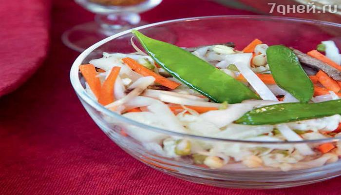 Азиатский салат с капустой, морковью и говядиной: рецепт изысканной закуски