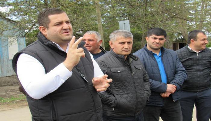 Dmanisinin icra başçısı azərbaycanlıların problemləri ilə maraqlanıb