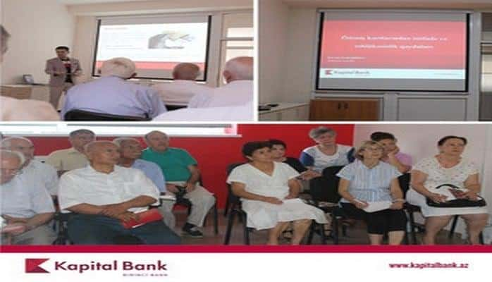Kapital Bank провел очередной тренинг для пенсионеров