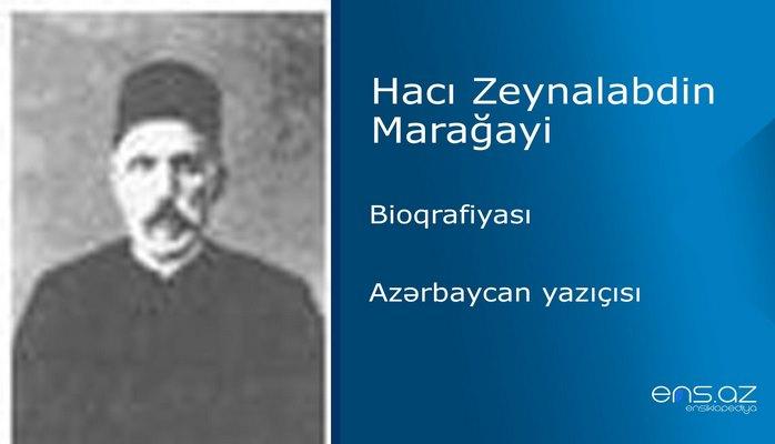 Hacı Zeynalabdin Marağayi