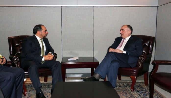 Эльмар Мамедъяров встретился с министром иностранных дел Афганистана