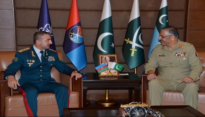 Pakistan prezidenti Elçin Quliyevi qəbul etdi