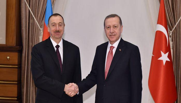 Эрдоган поблагодарил Ильхама Алиева