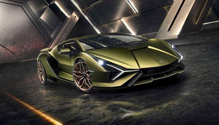 Первый гибридный суперкар от Lamborghini