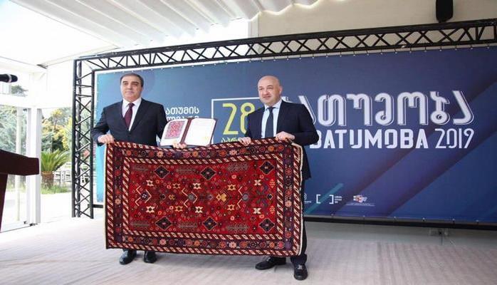 """Niyazi Bayramovun başçılıq etdiyi nümayəndə heyəti """"Batumoba 2019"""" - da iştirak edib"""