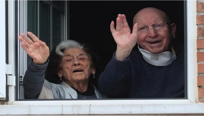İspaniyada 88 yaşlı cütlük koronavirusdan sağaldı