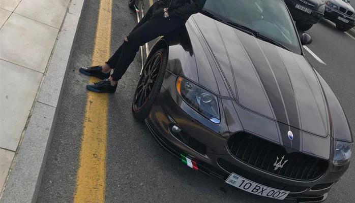 """Azərbaycanlı futbolçuların maşınları: """"Porsche Panamera"""", """"Maserati""""..."""