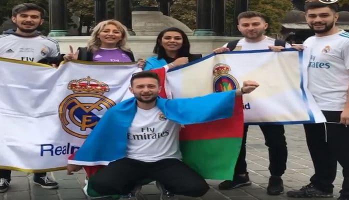 """""""Real Madrid""""in rəsmi səhifəsi azərbaycanlı azarkeşlərin videosunu paylaşıb"""