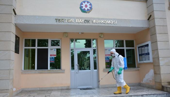 Армяне обстреляли в Тертере здание суда и машину скорой помощи, есть погибший