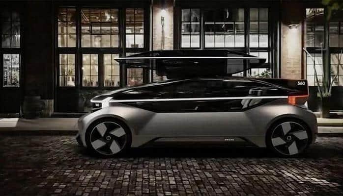 Volvo показала концепт дома на колёсах