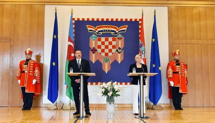 Колинда Грабар-Китарович: В Баку начнет функционировать постоянное посольство Хорватии